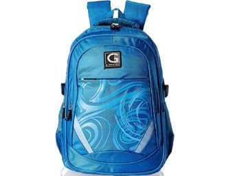 Flat 77% Off- Giordano 27 Ltrs Blue Laptop Backpack (GD6340SBL)