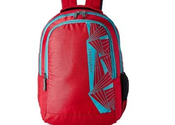 Flat 60% Off:- Aristocrat 27 Ltrs Red Casual Backpack (SBZEN1RED)