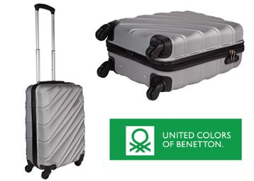 United Colors of Benetton Luggage at Flat 71% OFF