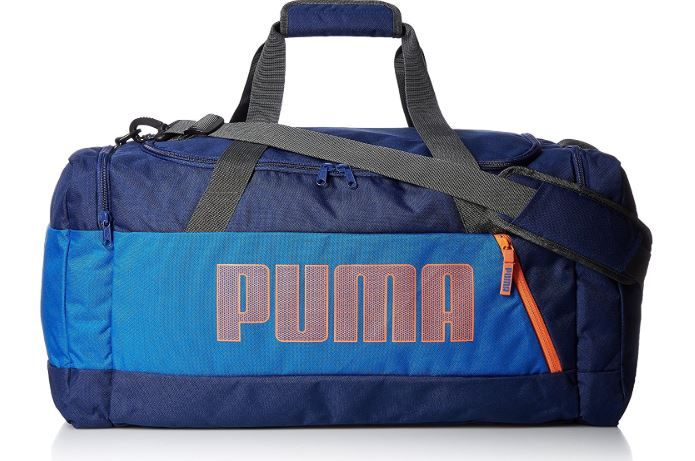 Flat 70% Off + Extra 15% Off On Puma Polyester 60 cms Lapis Blue Travel Duffle