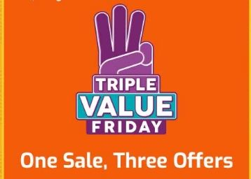 Shopclues Triple Value Sale:- Products UNDER Rs. 99 - 199