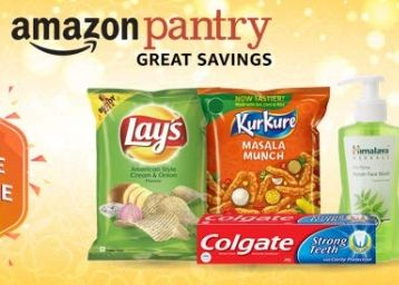 Shop for minimum Rs 1000 and get Rs 150 cashback as Amazon Pay Balance (Pantry)