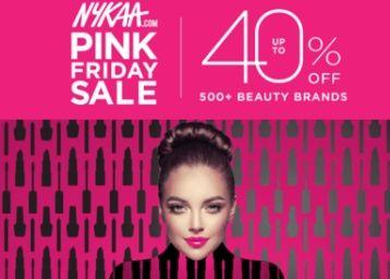 Nykaa Pink Friday Sale, Big Discounts On Beauty Range