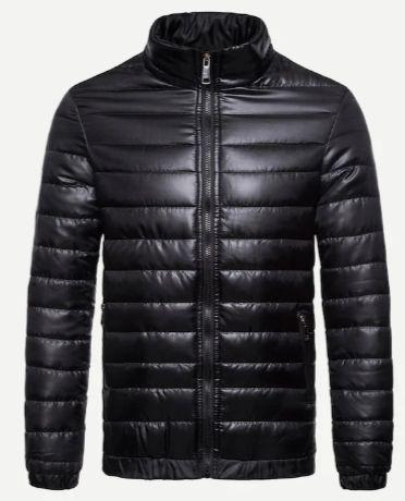 Men Solid Padded Coat
