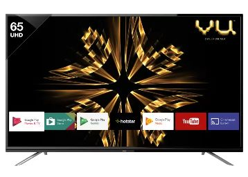 Vu Official Android 165cm (65 inch) Ultra HD (4K) LED Smart TV