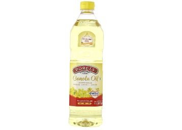 Flat 56% Off:- Borges Canola Oil, 1L [ Max. 16 Units to Buy ]