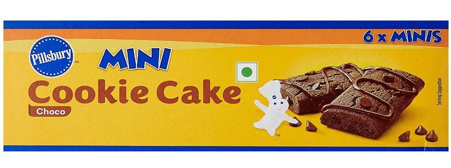 Must Buy:- Pillsbury Cookie Cake Minis, 11g (Pack of 6) at Just Rs. 20