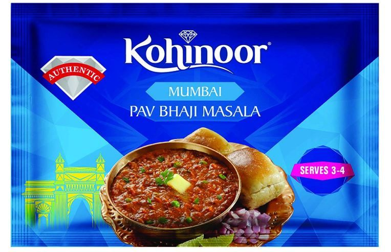 Flat 50% Off:- Kohinoor Mumbai Pav Bhaji Masala, 15g at Rs. 10