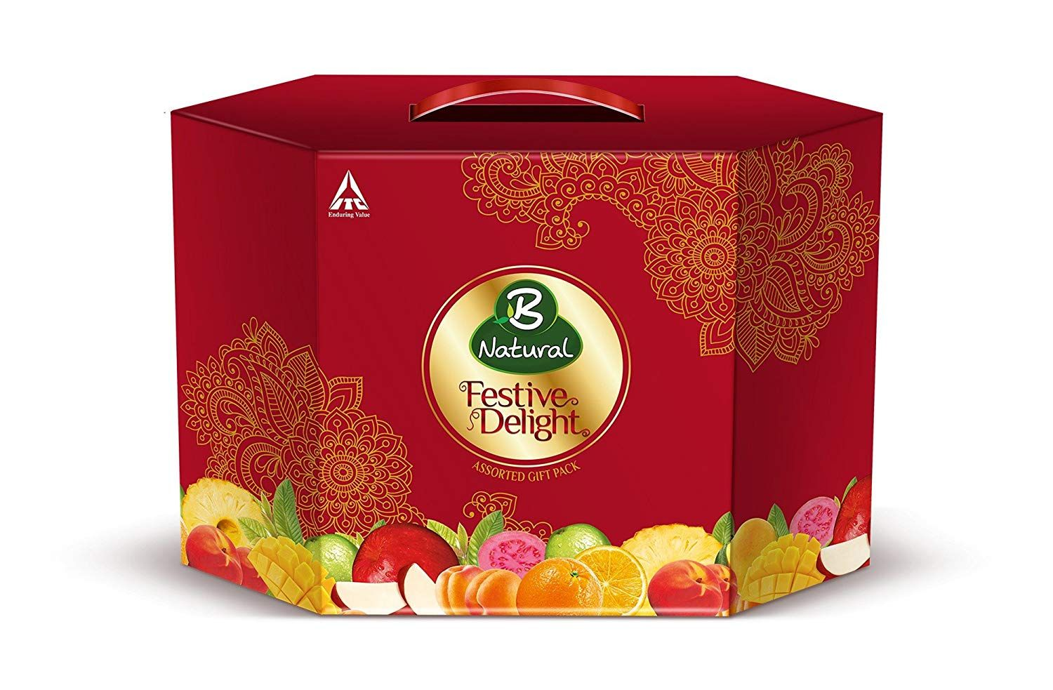 Flat 47% Off:- B Natural Festive Delight, 3L at Rs. 172