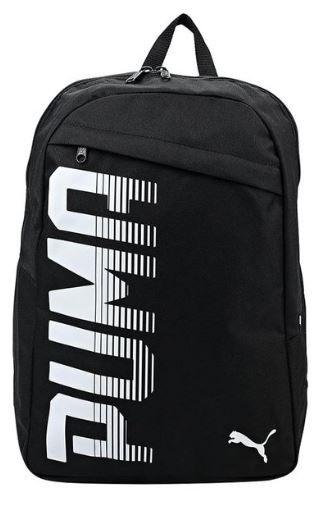 Puma Pioneer Black Backpack on 60%OFF