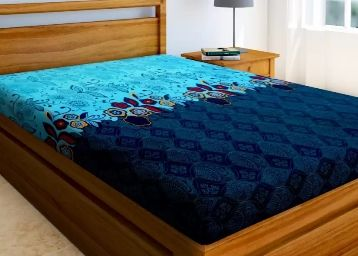 Flat 70% Off:- IWS 144 TC Microfiber Single 3D Printed Bedsheet (Pack of 1, Multicolor)