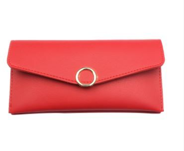 Red PU Leather Wallet in Just Rs.199