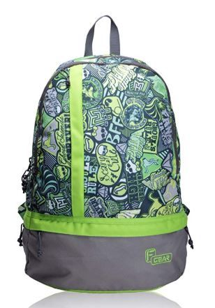 F Gear Burner P2 19 Ltrs Green Casual Backpack on 80%OFF