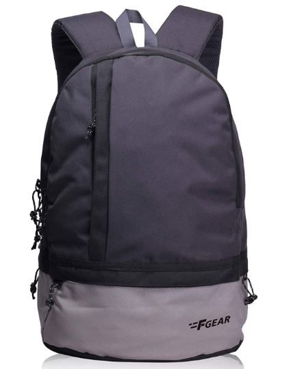 F Gear Burner GB 19 Ltrs Dark Grey Casual Laptop Backpack On 80%OFF