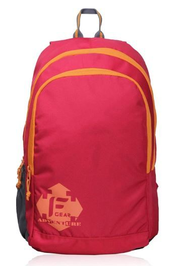 F Gear Castle RO 20 Ltrs Red Casual Backpack on 75%OFF