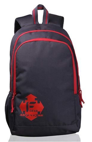 F Gear Castle GR 20 Ltrs Red Casual Backpack on 75%OFF