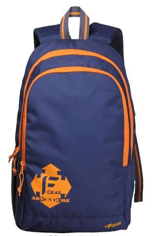 F Gear Castle NBO 20 Ltrs Orange Polyester Casual laptop Backpack on 75%OFF