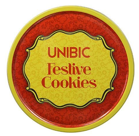 Unibic Festive Cookies, Tin, 250g on 56%OFF