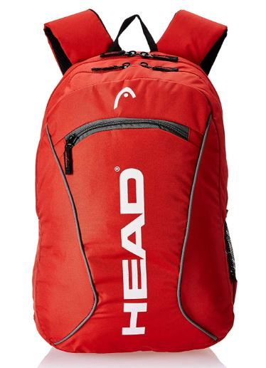 HEAD 23.15625 Ltrs Red School Backpack on 75%OFF