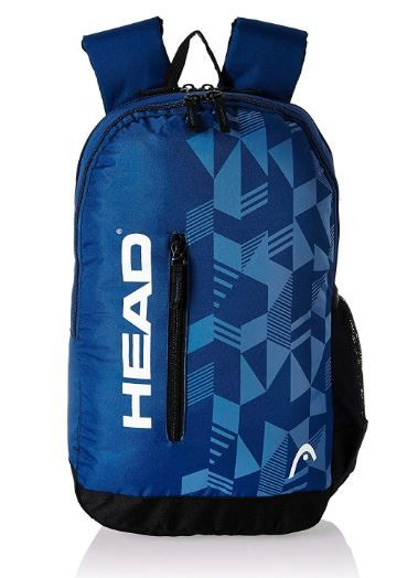 HEAD 20.25 Ltrs Navy School Backpack on 63% OFF