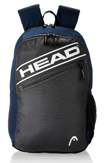 HEAD 20.25 Ltrs Grey School Backpack on 64% OFF