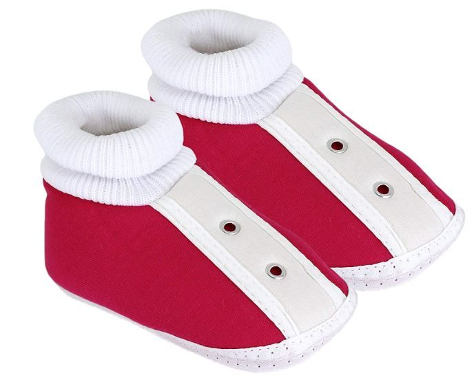 Neska Moda Baby Infant Soft Booties for Age Group 0 to 12 Months on 70% OFF