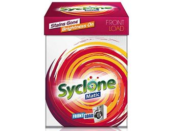 Syclone Matic Detergent Powder for Front Load Washing Machine - 2 kg