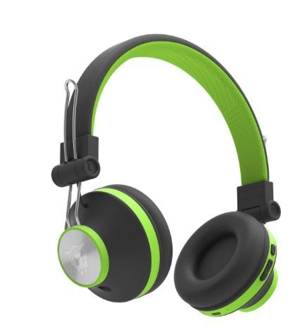 Ant Audio Treble H82 On-Ear Bluetooth Headphones with Mic (Green) on 74% OFF