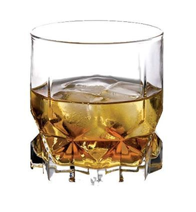 Pasabahce Future Whisky Glass Set, 325ml, Set of 2, Clear on 70% OFF