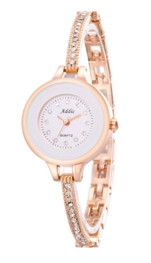 Addic Analogue White Dial Women