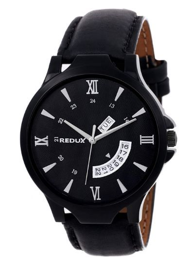 REDUX Analogue Black Dial Men