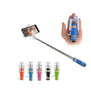 Pocket Size Mini Selfie Stick,Multicolor on 90% OFF