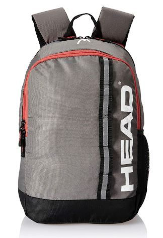 EAD 20.25 Ltrs Navy and Orange School Backpack on 80% OFF