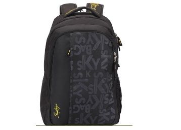Skybags Skybags Footloose Router 1 Black Printed Laptop Backpack At Rs.897