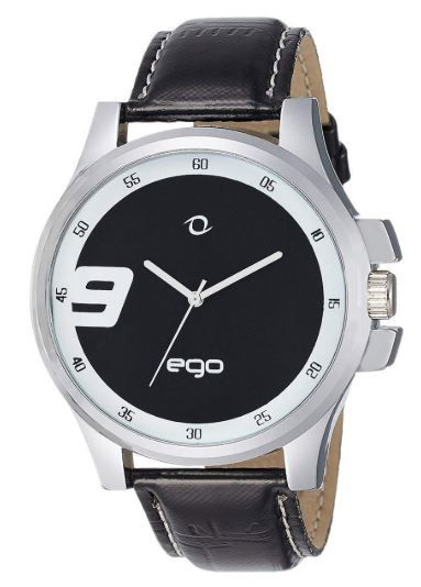Ego by Maxima Analog Black Dial Men