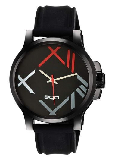 Ego Collection Analog Black Dial Men