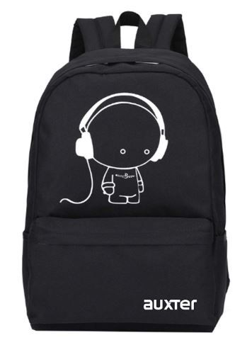 AUXTER Music 15 LTR Black Casual Backpack on 62% OFF