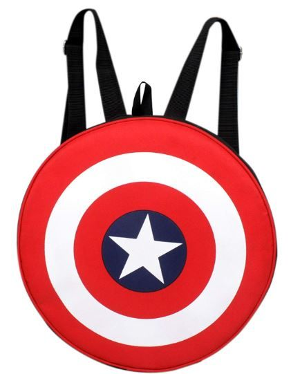 Auxter Red Polyester 20L Avengers Captain America Shield on 65% OFF