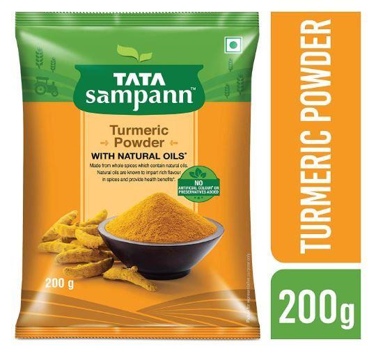 Tata Sampann Turmeric Powder Masala, 200g on 51% OFF