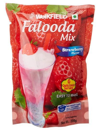 Weikfield Strawberry Falooda Mix, 200g on 50% OFF