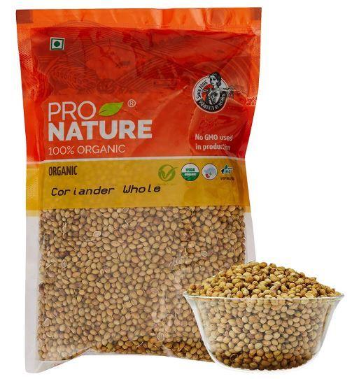 Pro Nature 100% Organic Coriander Whole, 200g on 50% OFF