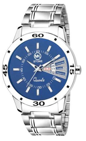 MKSTONE NEW BLUE WATCH on 69% OFF