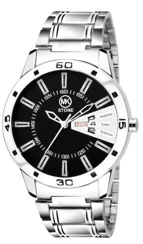 MKSTONE BL BLACK Day and Date Watch - For Men on 71% OFF + 200 Cashback