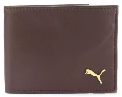 Men Formal Brown Genuine Leather Wallet on 79% OFF