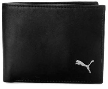 Men Formal Black Genuine Leather Wallet on 83% OFF