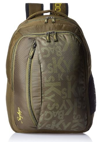 Skybags Router 26 Ltrs Green Casual Backpack on 76% OFF