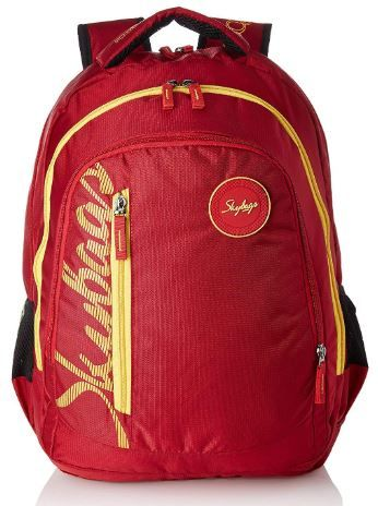 Skybags 30 Ltrs Red Laptop Backpack on 76% OFF