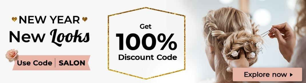 100% Discount On Saloon Use Code: SALON
