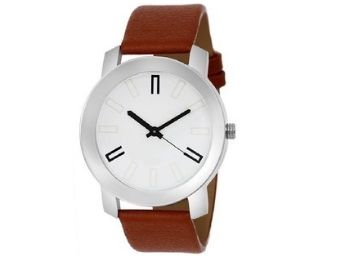 SCK by Vivah Mart Round Dial Brown Leather Strap Analog Watch at Just Rs. 120