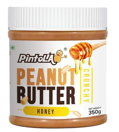 Pintola All Natural Honey Peanut Butter, Crunchy, 350g on 12% OFF